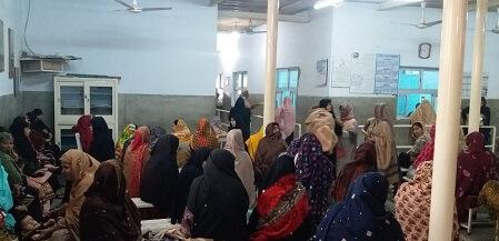 women with veil in Multan